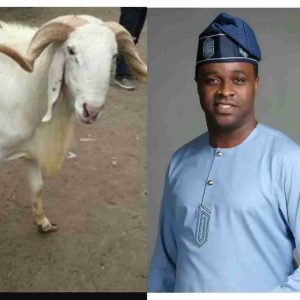 Actor Femi Adebayo Is Giving Out A Ram For Sallah To His Muslim Fans (Pics)
